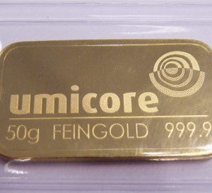 50 gram goudbaar