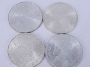 Zilveren tientjes