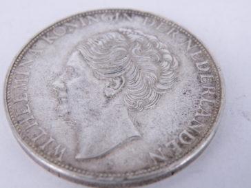 zilveren rijksdaalder 25 gram