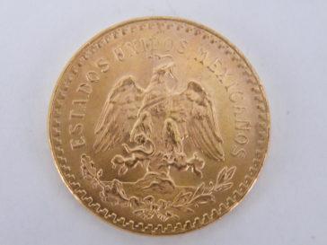 gouden munt mexico 50 pesos