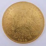 Oostenrijk 100 corona goud