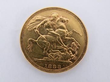 Sovereign goud 1888