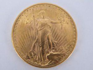 twenty dollar goud