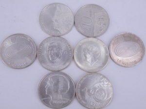 zilveren tientje 15 gram beatrix