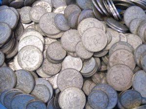 zilveren guldens