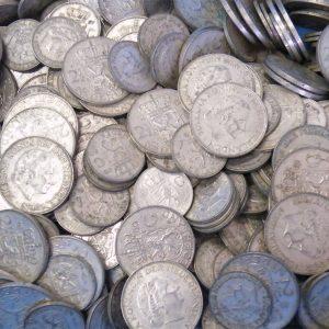 Zilveren tientje