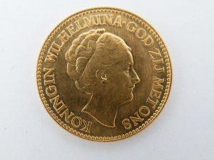 Gouden tientje Wilhelmina