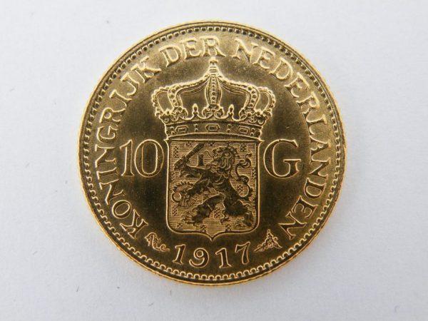 Gouden tientje 1917