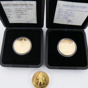 Gouden dubbele dukaat