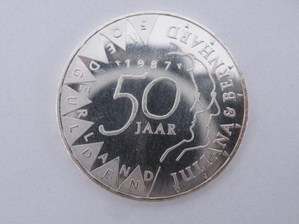 50 gulden munt