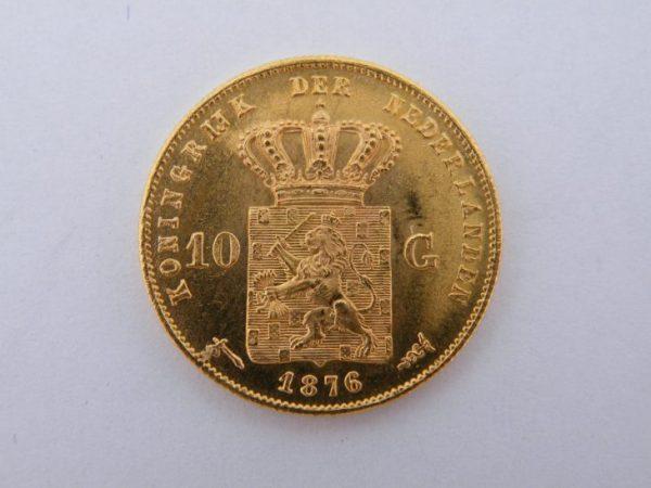 Gouden tientje 1876