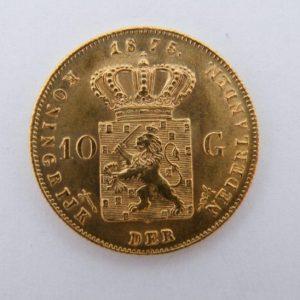 Gouden tientje 1875