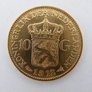 gouden tientje 1912