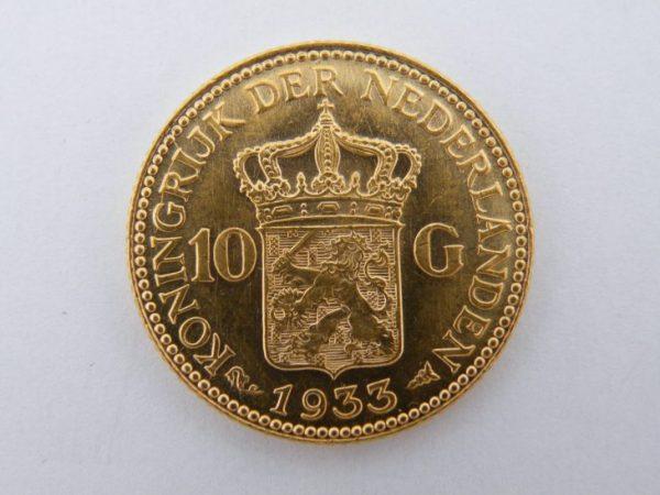 Gouden tientje 1933