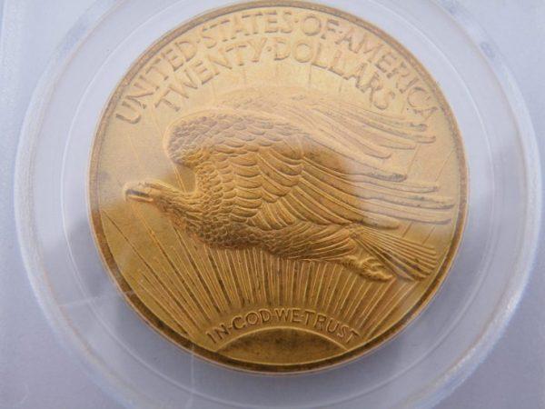 Liberty $ 20 1924 PCGS
