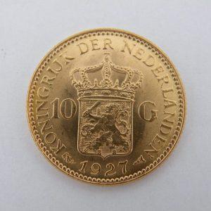 Gouden tientje 1927