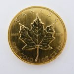 Maple leaf goud 1985