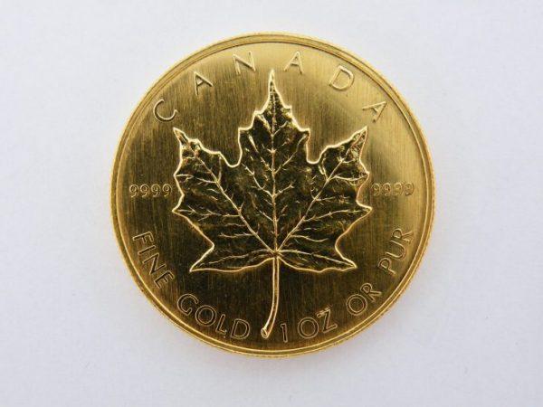 Maple leaf goud 1985