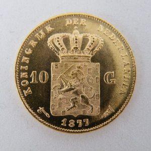 Gouden tientje 1877