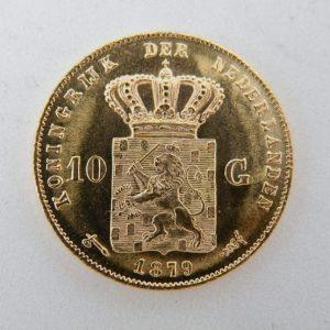 Gouden tientje 1879