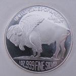 1 ounce zilver munt