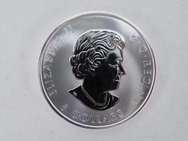 Superleaf 1,5 oz zilver munt