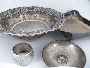 Zilver servies
