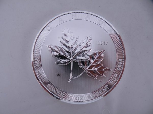 10 ounce magnificent maple leaf zilver