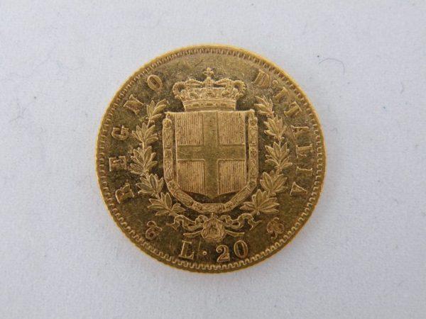 20 lire goud italië