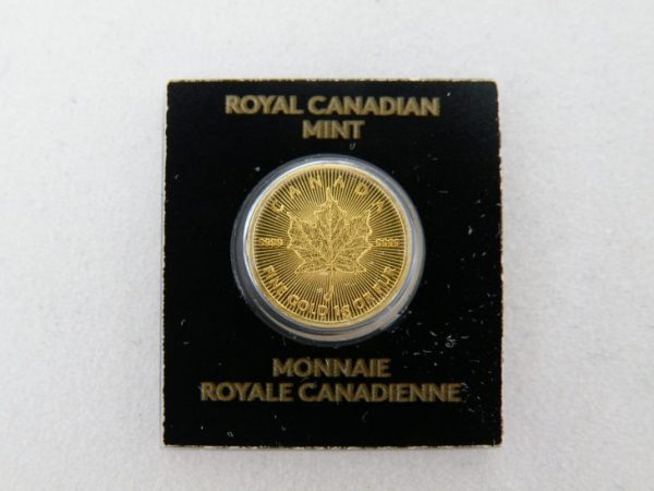 Gouden Maple Leaf gram