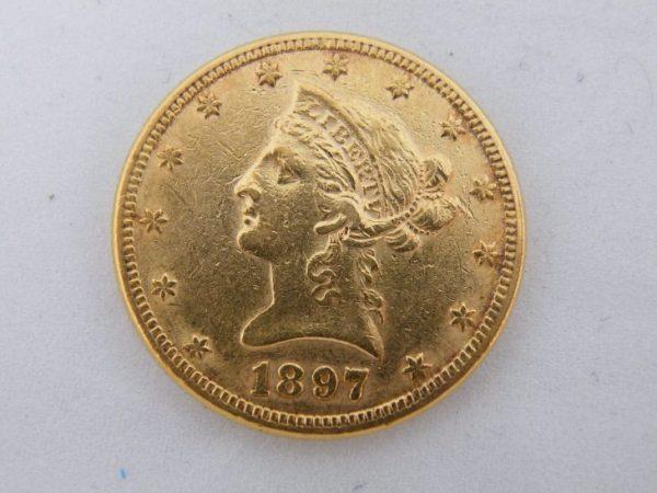 $ 10 gouden munt Amerika