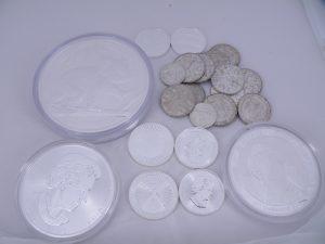 Zilveren munten kopen