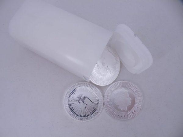 1 tube zilveren Kangaroo 1 ounce