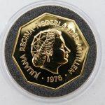 200 gulden nederlandse antillen goud 1976