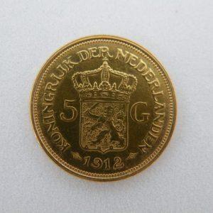 Gouden vijfje 1912