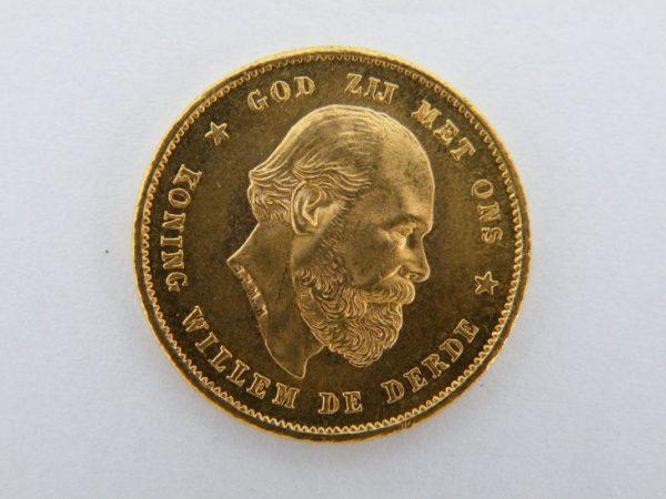 Gouden tientje 1880