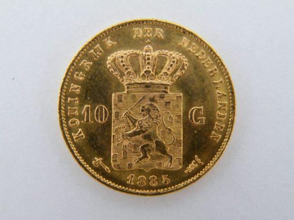Gouden tientje 1885