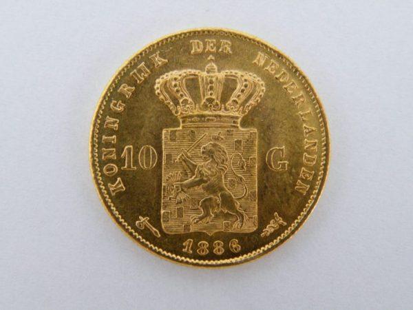 Gouden tientje 1886