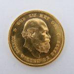Gouden tientje 1887