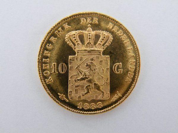 Gouden tientje 1888