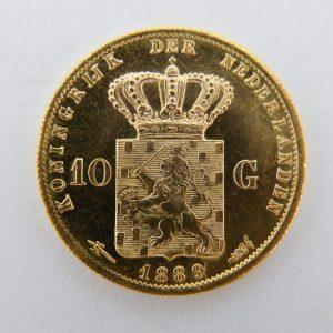 Gouden tientje 1889