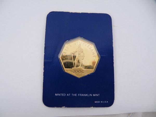 Nederlandse Antillen 200 gulden goud 1977