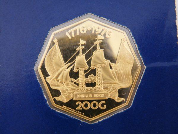 Nederlandse Antillen 200 gulden goud 1976