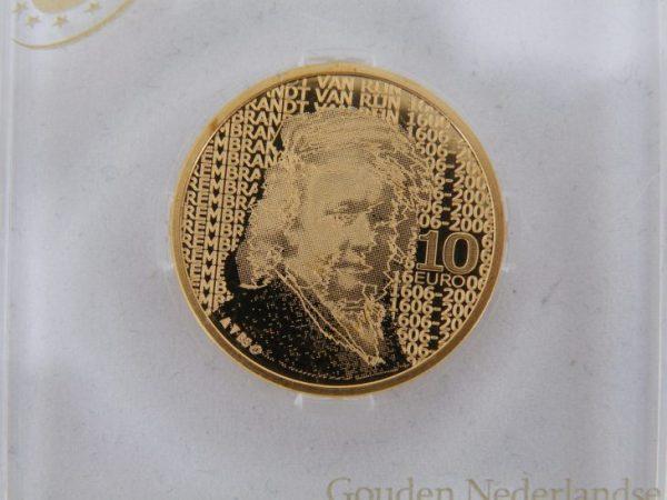 Gouden tien euro Rembrandt van Rijn