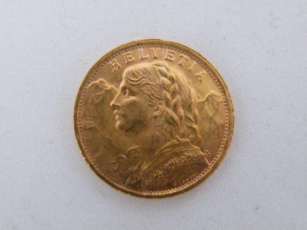 Gouden 20 Francs Zwitserland