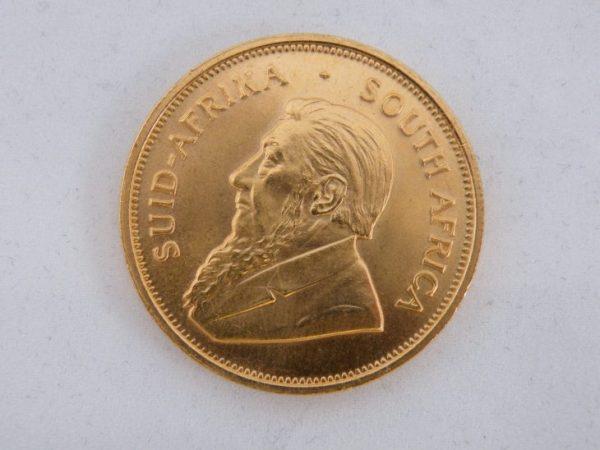 Krugerrand 1 ounce goud 1975