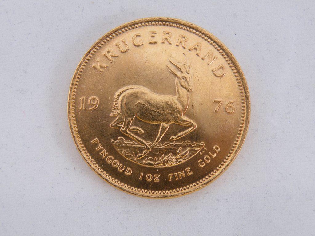Krugerrand 1 ounce goud 1976