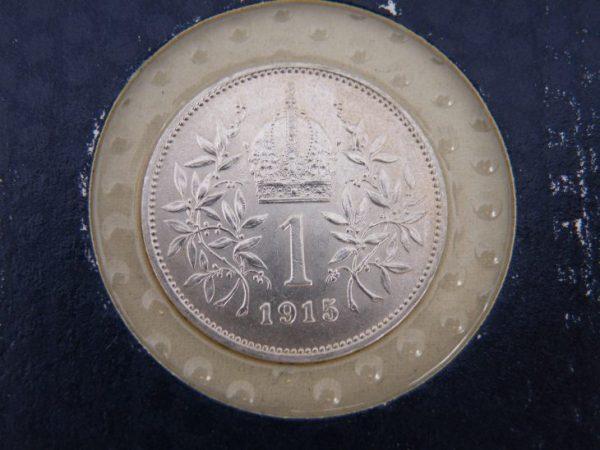 1 Kröne 1915 Franz Joseph silver