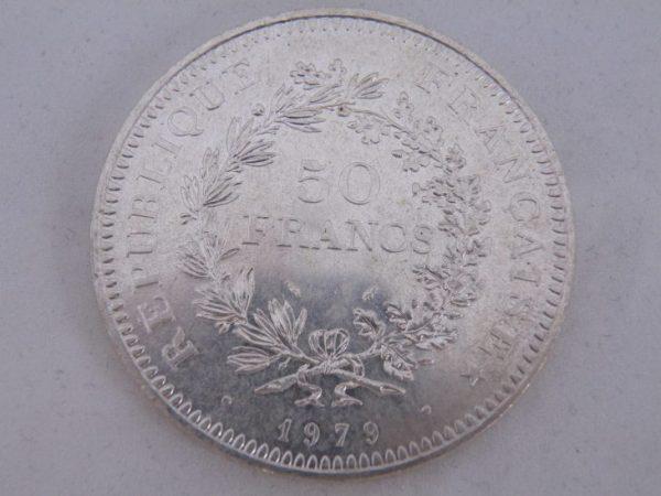 50 francs frankrijk zilver