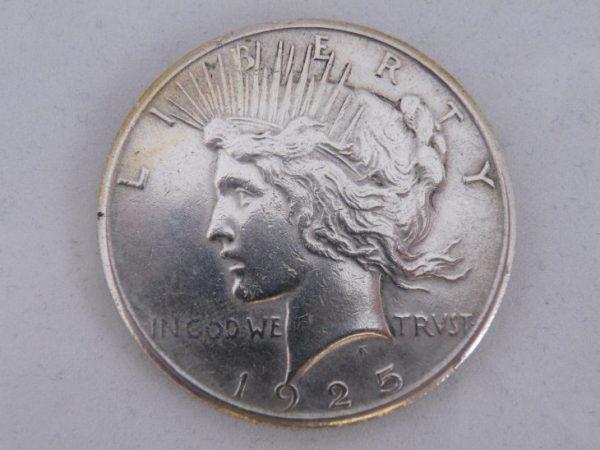 one dollar 1925 silver